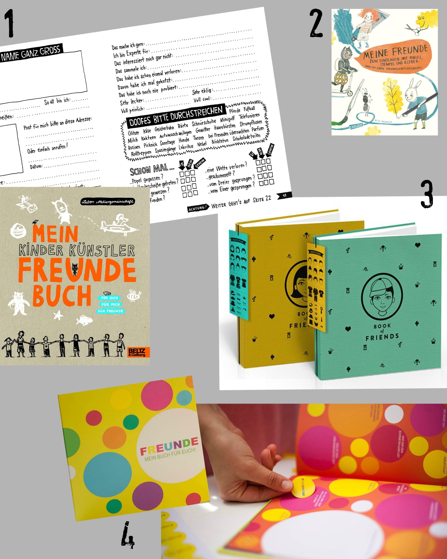 Freundebücher für den Kindergarten