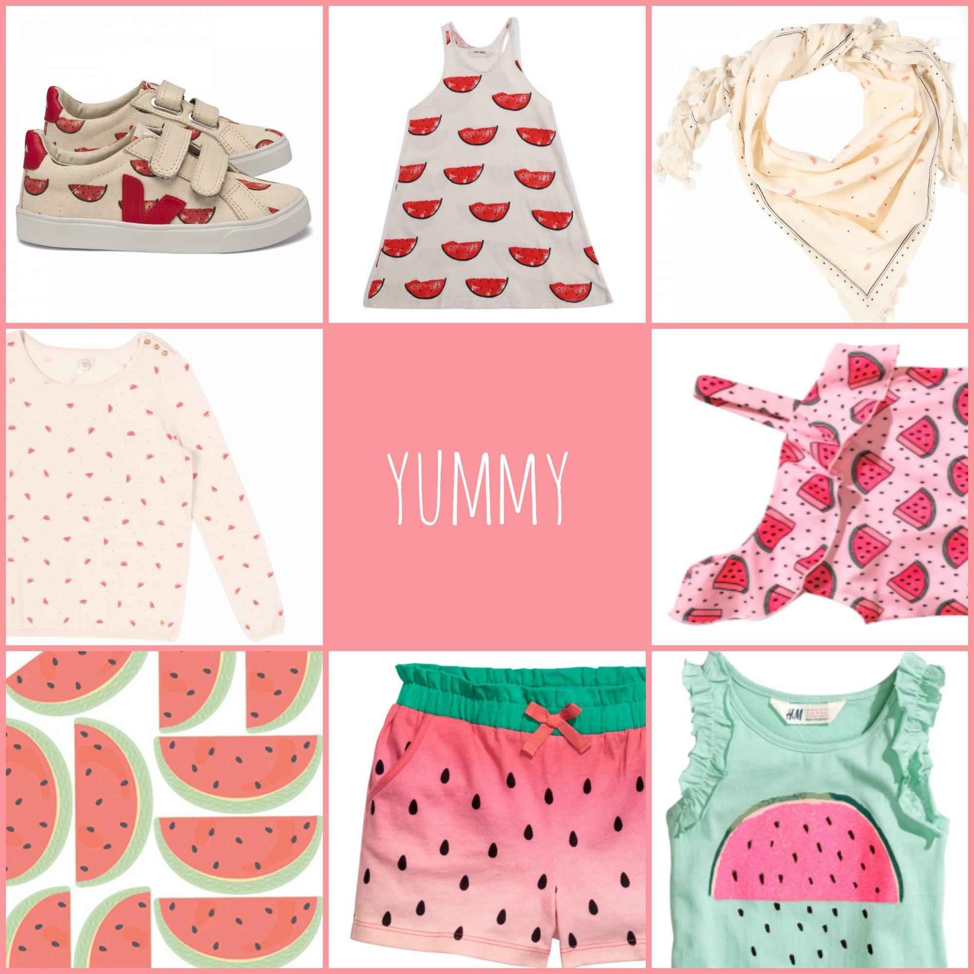 Wassermelonen-Prints